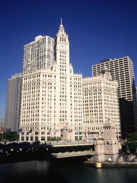 Wrigley Building in Chicago, IL by Ralf-finn Hestoft