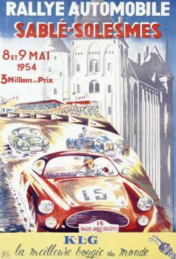 Rallye Automobile Sable, Solesmes