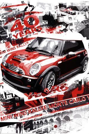 Rallye Monte Carlo (Automotive Race) Art Poster Print