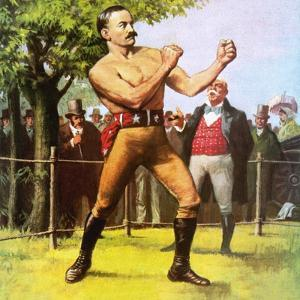 King of the Bare-Knuckle Boxers: John L Sullivan by Ralph Bruce
