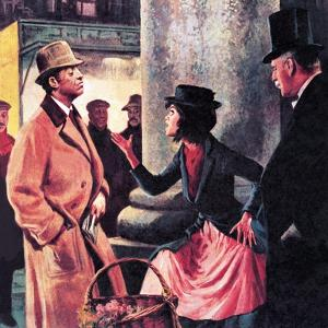 Professor Higgins and Eliza Doolittle by Ralph Bruce