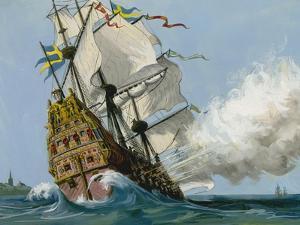 The Swedish Warship 'Vasa' by Ralph Bruce