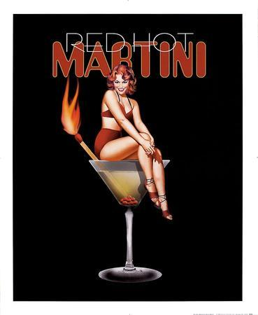 Red Hot Martini