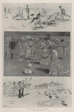 A Novel Summer Gymkhana at Vincennes by Ralph Cleaver