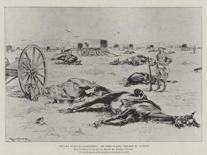 Cronje's Stand at Paardeberg, the Boer Laager, Wrecked by Lyddite by Ralph Cleaver