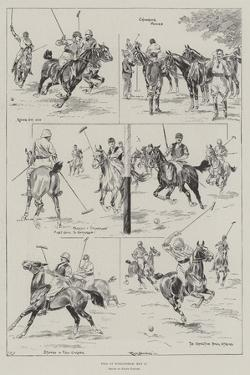 Polo at Hurlingham, 11 May by Ralph Cleaver