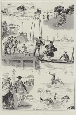 Sketches at Cowes by Ralph Cleaver