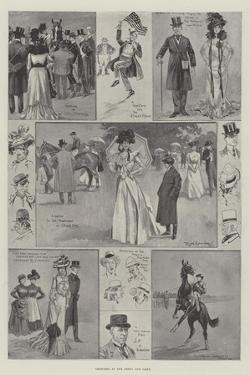 Sketches at the Derby and Oaks by Ralph Cleaver