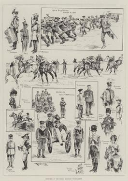 Sketches at the Royal Military Tournament by Ralph Cleaver