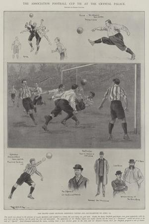 The Association Football Cup Tie at the Crystal Palace by Ralph Cleaver