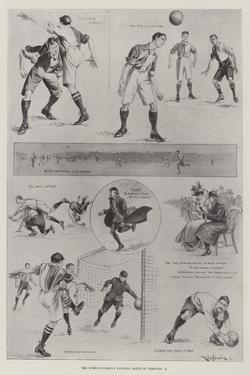 The Inter-University Football Match on 18 February by Ralph Cleaver