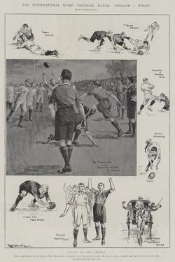 The International Rugby Football Match, England V Wales by Ralph Cleaver