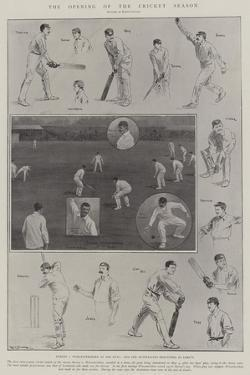 The Opening of the Cricket Season by Ralph Cleaver