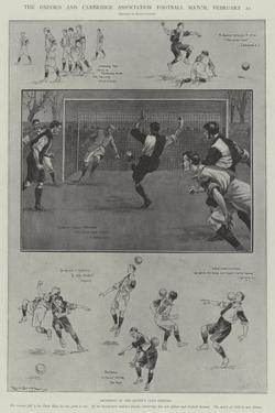 The Oxford and Cambridge Association Football Match, 22 February by Ralph Cleaver