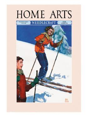 Home Arts, February 1939 by Ralph Coleman