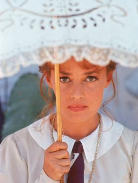 "Actress Jeanne Moreau Filming ""Viva Maria"" by Ralph Crane"