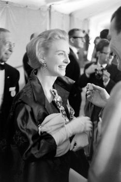 """Actress Joanne Woodward Holds Her Best Actress Award for """"Three Faces of Eve"""", 1958 by Ralph Crane"""