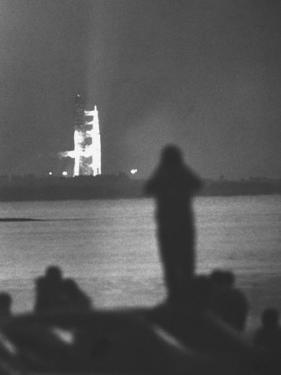 Apollo 11 at the Moment of Take-Off at Cape Kennedy by Ralph Crane