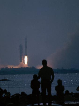 Apollo 11 Blast-Off by Ralph Crane