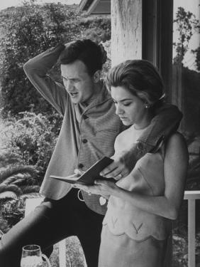Country Singer Roger Miller and His Wife at Home by Ralph Crane