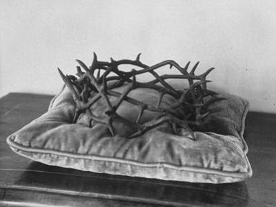 Crown of Thorns Worn by Actor in the King of Kings from Prop Collection of Cecil B. Demille
