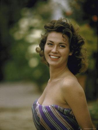 Portrait of Italian Actress Gia Scala