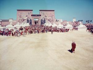 The Ten Commandments, Charlton Heston as Moses by Ralph Crane