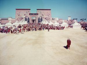 The Ten Commandments, Charlton Heston as Moses by Ralph Crane