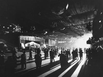 Young Britons at Hammersmith Palais, Popular London Dance Hall by Ralph Crane