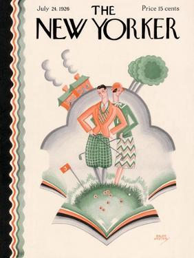 The New Yorker Cover - July 24, 1926 by Ralph Jester