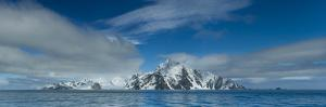 A Panoramic Stitch of Elephant Island, Antarctica from Five Images by Ralph Lee Hopkins