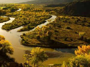 Chama River Winds Through the Countryside by Ralph Lee Hopkins