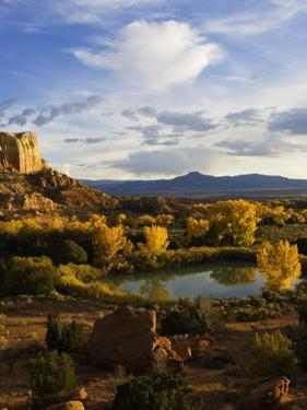 Peaceful Landscape Stretches to the Horizon, Santa Fe, New Mexico, USA by Ralph Lee Hopkins