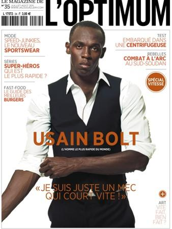L'Optimum, July-August 2011 - Usain Bolt by Ralph Mecke