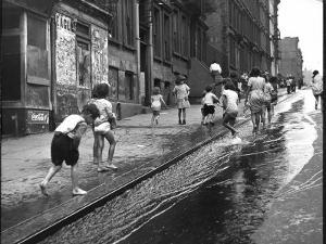 Children Playing on 103rd Street in Puerto Rican Community in Harlem by Ralph Morse