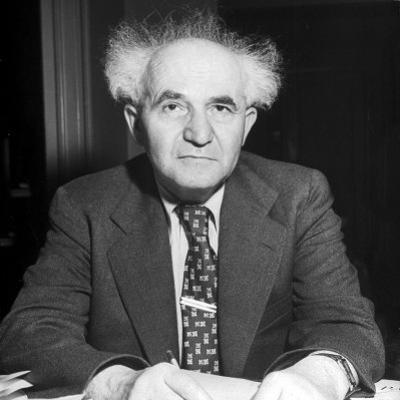 David Ben-Gurion by Ralph Morse