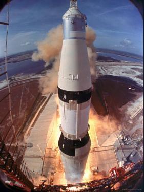 Launch of Apollo 11 by Ralph Morse