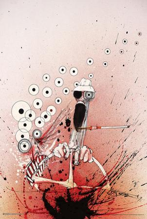 Ralph Steadman - Hunter Driving