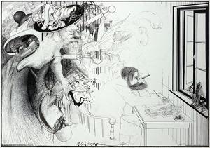 Ralph Steadman - The Secret of Dreams by Ralph Steadman