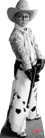 Ralphie Black & White - A Christmas Story Lifesize Standup