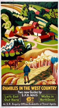 Rambles in the West Country, SR, c.1938