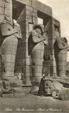 Ramesseum, Thebes, Egypt