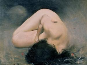 103-0079519/1 Nude Woman by Ramon Casas i Carbo