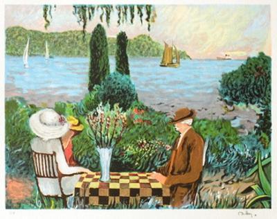 Apres-Midi Chez Bonnard by Ramon Dilley