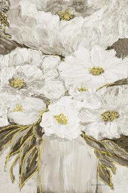 Golden Age Floral V by Ramona Murdock