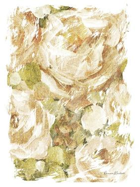 Golden Glitter Roses No. 2 by Ramona Murdock