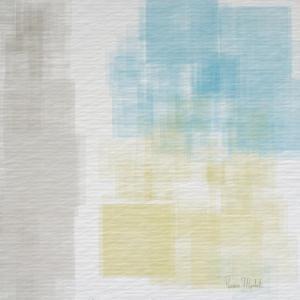 White Abstract I by Ramona Murdock