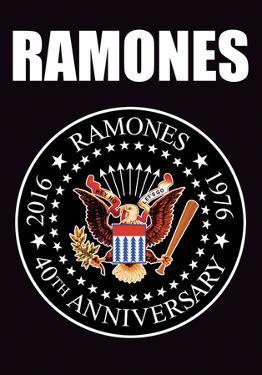 Ramones- 40Th Anniversary Logo