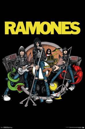 Ramones- Animated Band