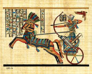 Ramses on Chariot